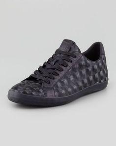 just cavalli - Optic Low-Top Sneaker - Siyah