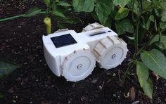 防水太陽光で勝手に充電ルンバ開発者が手掛ける雑草取りロボット