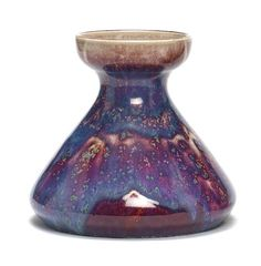 Ruskin A High-Fire Decanter Vase