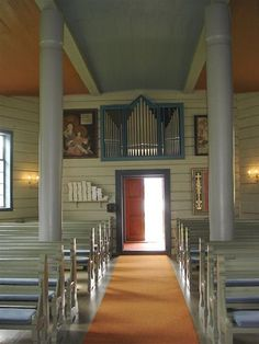 The organ in Loen Church. Loen, Stryn, Norway. Photo: Manualman, (c) All rights reserved., via Flickr.