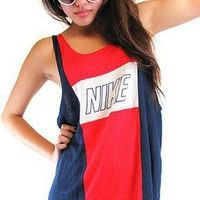 Shop the latest nike products on Wanelo, the world's biggest shopping mall. Nike Tank Tops, Athletic Tank Tops, Nike Looks, Vintage Nike, Vintage Sport, Nike Outfits, My Style, Nike Clothes, How To Wear