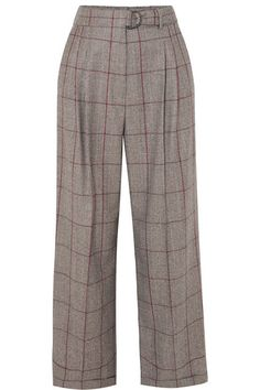 Brunello Cucinelli | Prince of Wales checked wool pants | NET-A-PORTER.COM