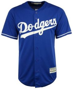 60810afc484 Majestic Men s Corey Seager Los Angeles Dodgers Player Replica Cool Base  Jersey - Blue M Cody