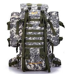 80 L Backpack / Hiking & Backpacking Pack / Laptop Pack / Cycling BackpackCamping & Hiking / Climbing / Leisure Sports / School / #05396540