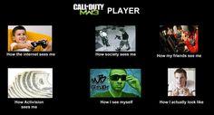 Call of Duty meme-HA! I gotta show this to Paige.