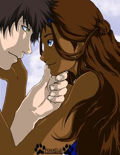 Zuko and Katara - Don't care how the show ended! This should have been!