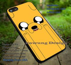 Adventure Time, Adventure, Time, Jake, Face, Funny, case/cover for iPhone 4/4s/5/5c/6/6 /6s/6s  Samsung Galaxy S4/S5/S6/Edge/Edge  NOTE 3/4/5 #cartoon #anime #adventuretime ii