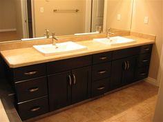 custom vanity cabinets    Bathroom Cabinets   Bathroom Vanity Cabinets Regina   Cougar Custom