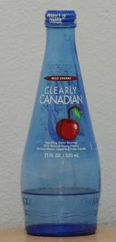 Clearly Canadian: | 35 Foods From Your Childhood That Are Extinct Now these where my shit !! i loved the green apple! wish these would come back