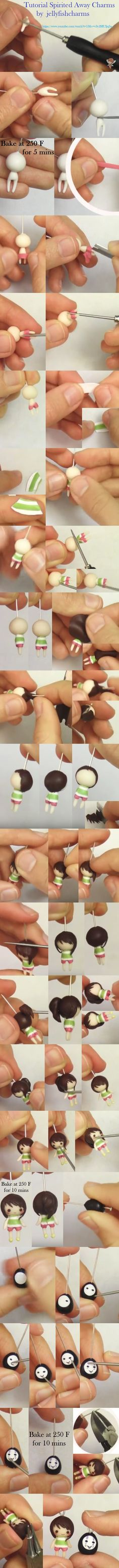 Spirited Away Charms #Tutorial https://www.youtube.com/watch?t=13&v=v3y2HUIjqSo