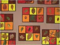 Autumn Crafts, Autumn Art, Autumn Leaves, Diy For Kids, Crafts For Kids, Arts And Crafts, Art Projects, Projects To Try, Easy Canvas Art