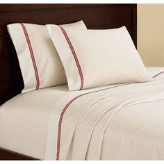 Casa Mia Cuerda 4-Piece Sheet Set, Straw, Beige
