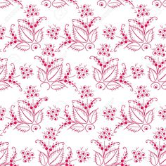 Russian, Traditional, Pattern, Black Currant, Red Royalty Free Cliparts, Vectors, And Stock Illustration. Pic 18436277.