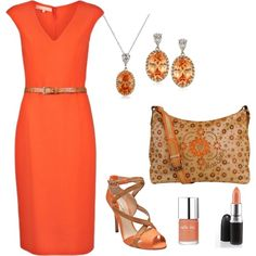 coral, created by leisa-708 on Polyvore