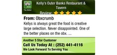 Kellys is always great the food is creative large selection. Never disappointed. One of...