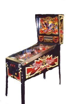 Black Knight 2000... one of the best pinball machines ever crafted by man.  Would love to own one someday.