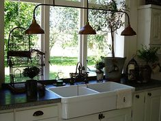 light fixture - great for a garden shed or greenhouse if you work in the dark