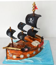 Ready to sail? Cake Decorating, Cakes, Design, Food Cakes, Pastries, Torte, Cookies, Cake, Tarts
