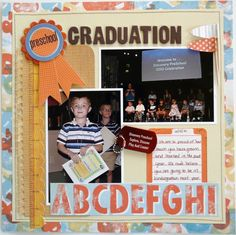 Layout: Preschool Graduation