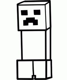 how to draw a minecraft creeper, minecraft step 5 Creeper Minecraft, Minecraft Party, Minecraft Stuff, Fun Crafts For Kids, Art For Kids, Henna Kids, Drawing Sheet, Pocket Edition, Frases