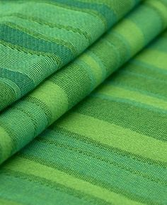 Very fine and soft Jacquard fabric, optimal diagonal stretch Woven Wrap, Jacquard Fabric, Jacquard Weave, Wave Pattern, Baby Wraps, Baby Wearing, New Baby Products, Lime, Baby Slings