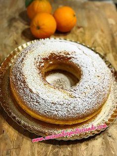 Cucinando e Pasticciando: Ciambellone soffice all'arancia Doughnut, Bread, Desserts, Food, Bakken, Tailgate Desserts, Deserts, Brot, Essen