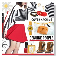 """""""Genuine People * Cropped Top"""" by calamity-jane-always ❤ liked on Polyvore featuring OPI, Bourjois, Marc by Marc Jacobs, Saachi, Tory Burch, NARS Cosmetics, Burberry, Chanel, Summer and fringe"""