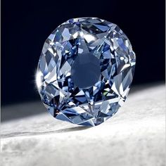 The Deep Blue Wittelsbach-Graff Diamond. The biggest blue diamond in the world at 31.06 carats. We offer more modestly sized and priced diamonds as well.
