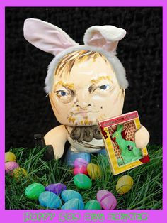 Happy Bad Ass Easter... or walking dead finale which ever you celebrate from Tindy Daryl Dixon