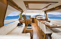 Dolphin 64' - Salon | Mochi Craft Yacht | Flickr