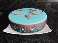 Welcome Home Cake Valscakeandbake Com Val S Cake And