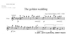 Free-sheet-music for Flute by Gabriel Marie