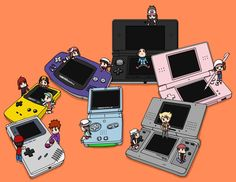 Pokemon Games by Jarino on deviantART