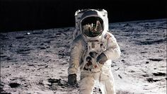 Neil Armstrong, en la Luna