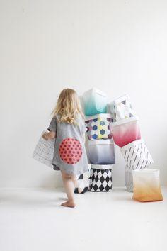 Craft Storage Buckets