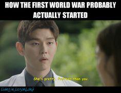 Well I'd start a world war.