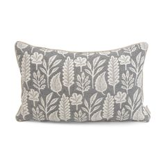 Influenced by her love of nature and the tropics, textile designer and printmaker Kiran Ravilious produces beautiful patterned fabrics and wallpapers. Folia, like much of her work is inspired by exotic fauna, with its hand printed design of organic motifs transformed into a beautifully woven cushion.