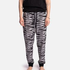 Matching Jogger - Zebra - S