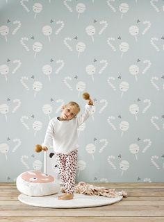 insideyourhome.co inspiration- série de papier peints pour chambres d'enfants- marque belge ROOMBLUSH