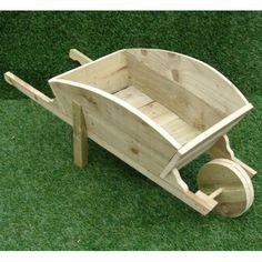 """Résultat de recherche d'images pour """"how to build a wooden wheelbarrow planter from pallets"""""""