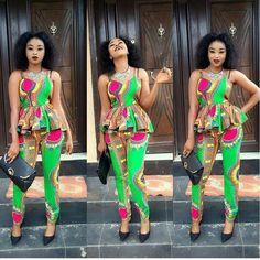 Items similar to Dashiki Peplum Trouser set; African Trouser Set on Etsy African Attire, African Wear, African Women, African Dress, African Outfits, African Kids, African Jumpsuit, Ankara Jumpsuit, Latest Aso Ebi Styles