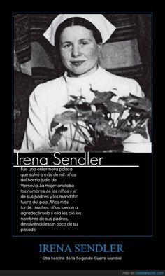 IRENA SENDLER - Otra heroína de la Segunda Guerra Mundial