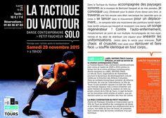 Danse Contemporaine LA TACTIQUE DU VAUTOUR SOLO -> au Petit Faucheux > le Samedi 28 novembre 2015 -> Sophiatou Kossoko