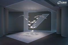 德意志银行品牌空间展厅 互动装置设计 - 火星建筑 | 火星网-中国领先的数字艺术门户