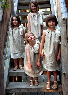 Flower girls dresses--adorable!