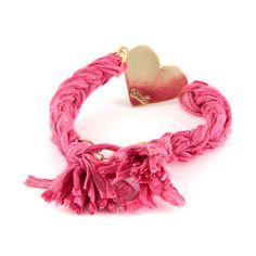 Ettika love bracelet vintage ribbon