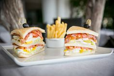 #fortevillage #gourmet #clubsandwich #food #lunch
