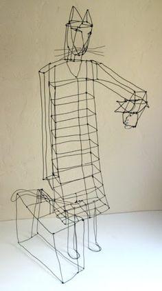 Wire, Paper, Sticks
