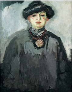 By Kees Van Dongen, ca 1906, Fernande Olivier, oil on canvas, Private collection.