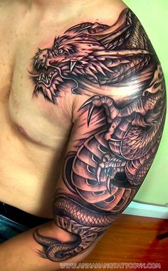 dragon tattoo arm - Google-Suche